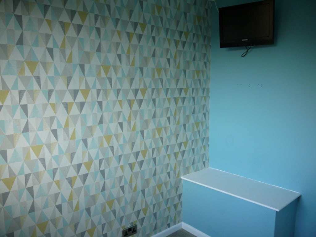 Boys Bedroom Blue Grey And Yellow Renovation Bay Bee