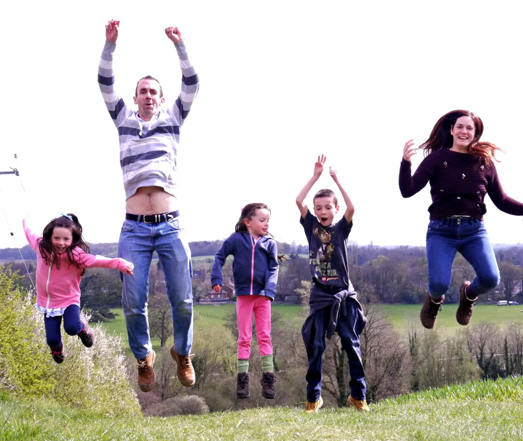 jumping-family