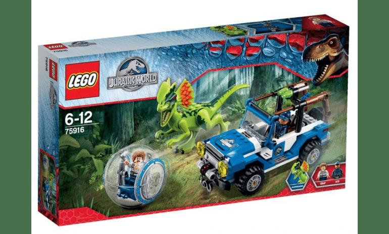 Win Jurassic World Lego 75916 set