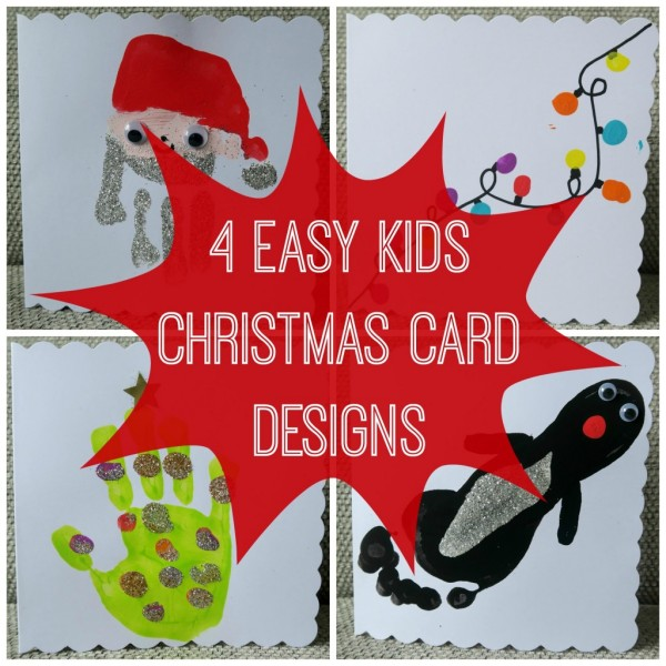 Easy Christmas Cards Designs.4 Easy Kids Christmas Cards Designs With Stamptastic Renovation