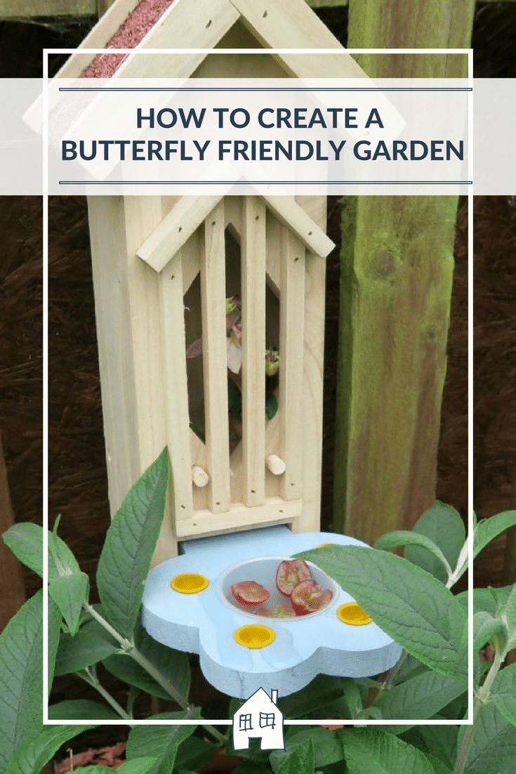 are you looking for ways to create a butterfly friendly garden? Planting plants, creating houses, providing plants that butterflies love