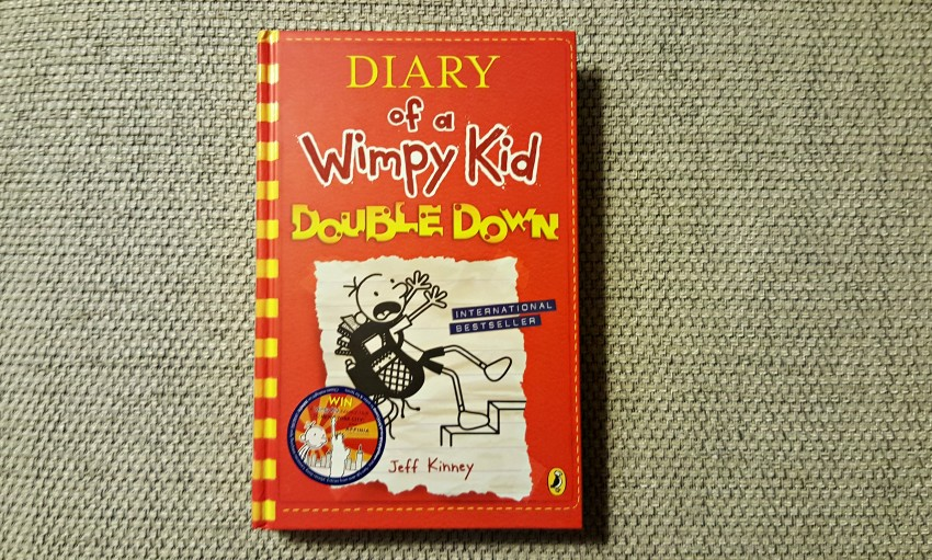 diary of a whimpy kid double down