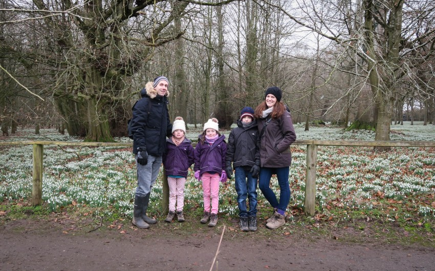 Me and Mine Welford Park Snowdrops