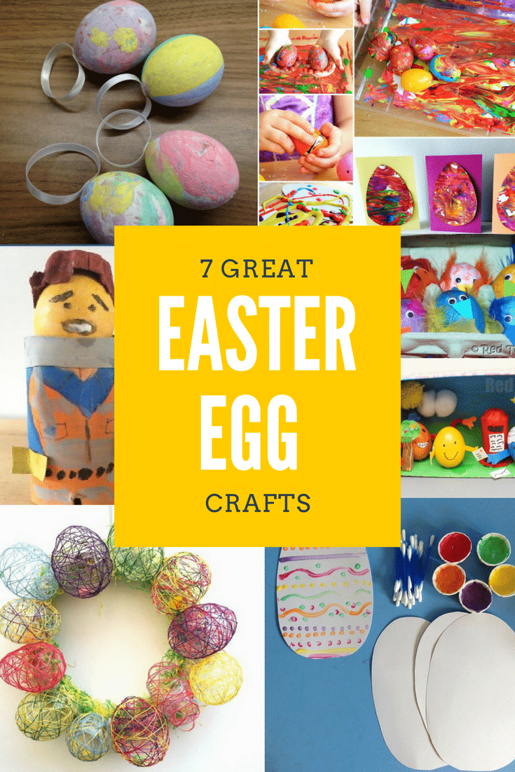 Are you looking for some Easter egg crafts for kids to do over the Easter holidays. I have put together 7 Easter egg crafts which will keep your kids happy, busy and if they love kids crafts they will love these crafts