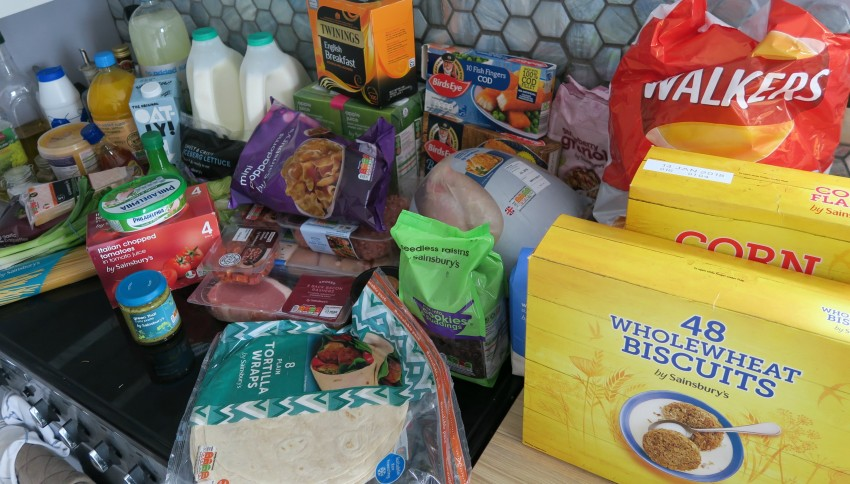 Sainsburys grocery haul