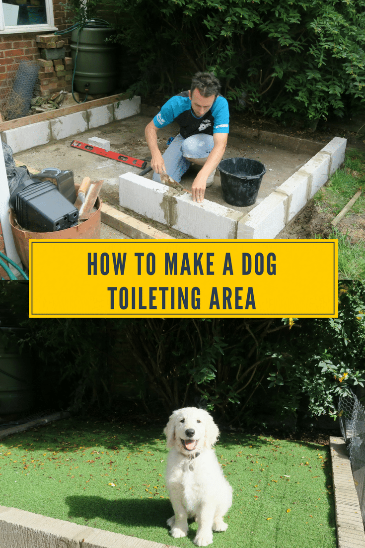 Are you fed up of your dog weeing on the grass and dog wee killing it? Well how about you build a dog toileting area in your garden. We built this for my puppy, so he could learn to toileting on the puppy patch straight away. Now I have no more dog wee killing the grass, and the kids can play on a poo free lawn. See how we made our dog toileting area, dog patch, dog toilet