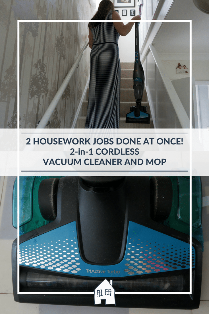 Do you hate cleaning floors? Then take a look at this Phillips PowerPro Aqua 2-in-1 wet and dry cordless vacuum and mop, as it makes cleaning floors so much easier and quicker to do.
