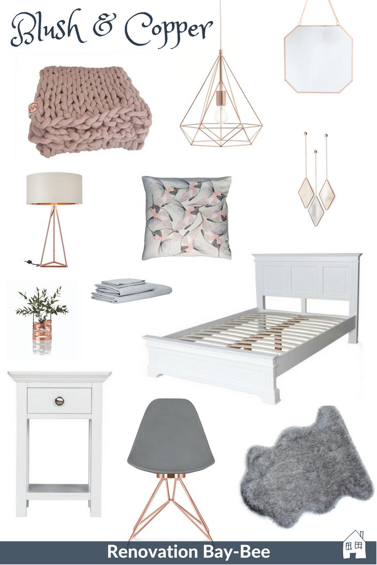 Bedroom Inspiration Copper