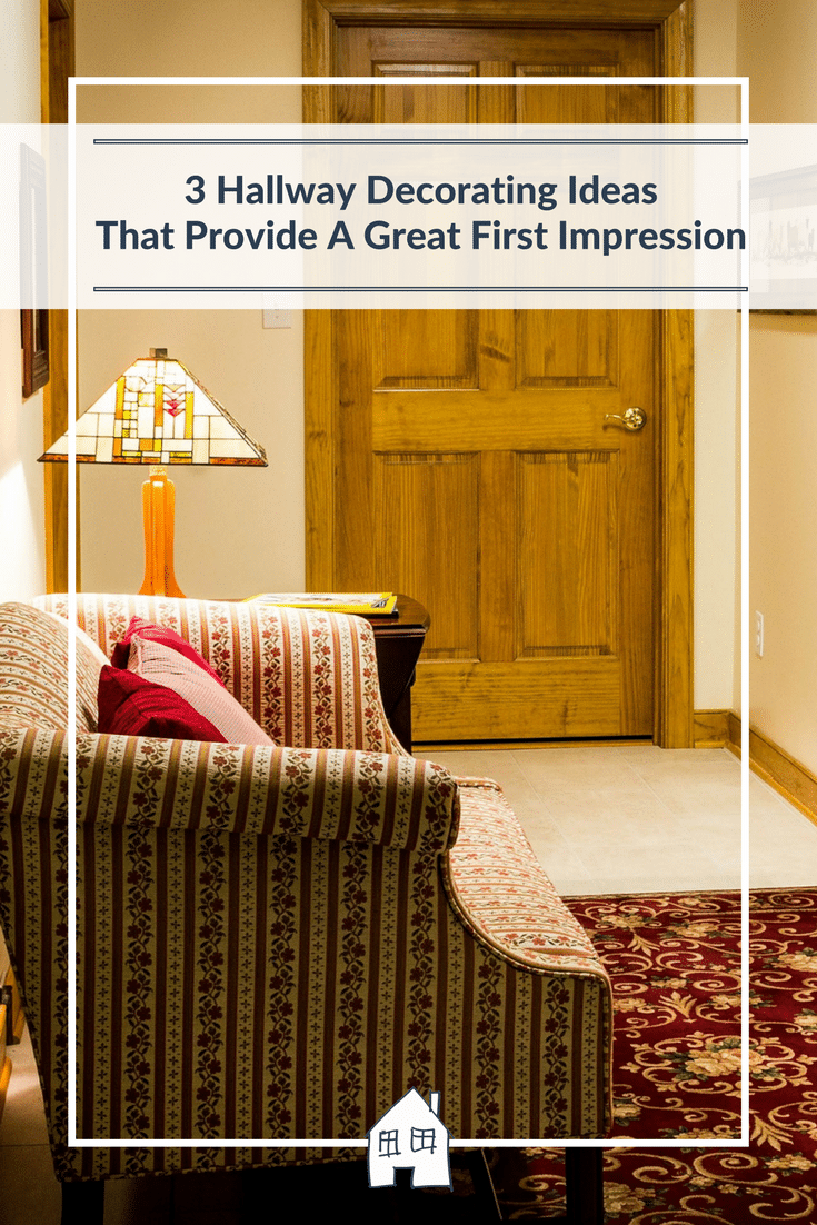 cosy hallways are welcoming for your first impression for your guests. Here are 3 ways on creating a great hallway
