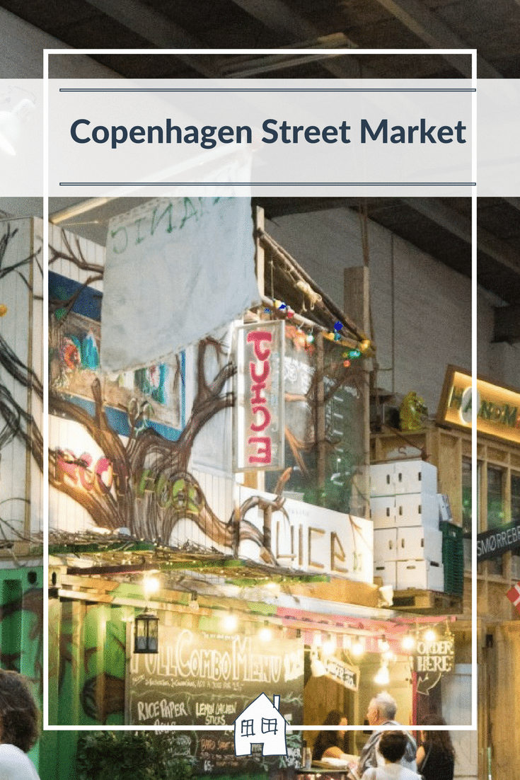 Copenhagen Street Food Market, a great place to visit in Copenhagen and a must to visit when your there.