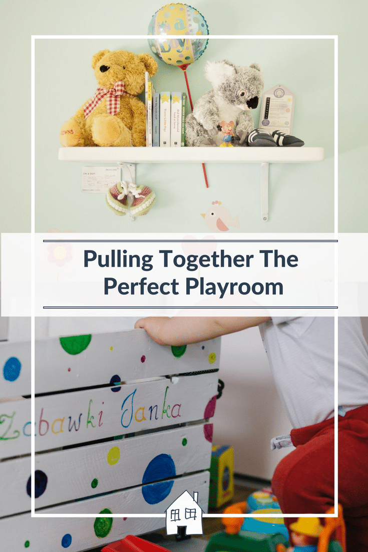 Pulling together a perfect playroom. Playrooms are a perfect place for kids to be kids, to have a room full of items that are theirs and they can do just what they want. Kids playrooms