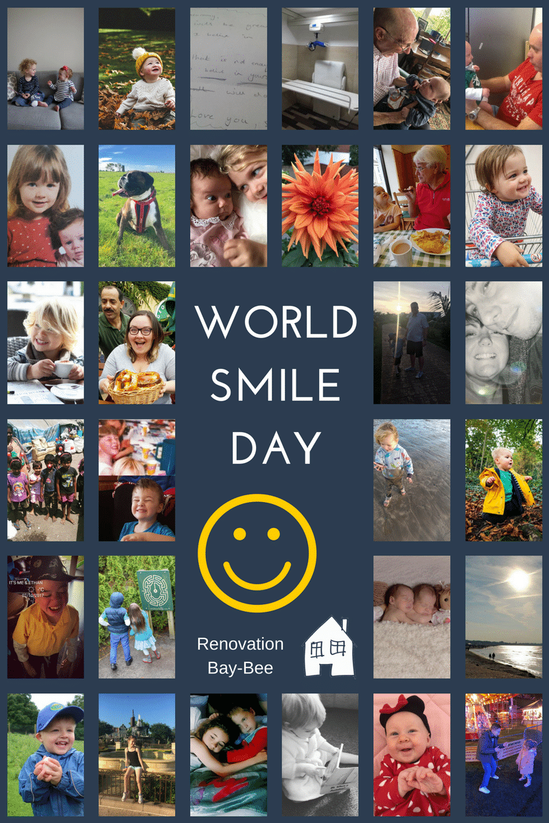 World Smile Day tomorrow on Friday 6th October. Lets make today a day where we all smile together World smile day is a great day to be happy and cheerful. Here are a collection of photos that make us smile for world smile day