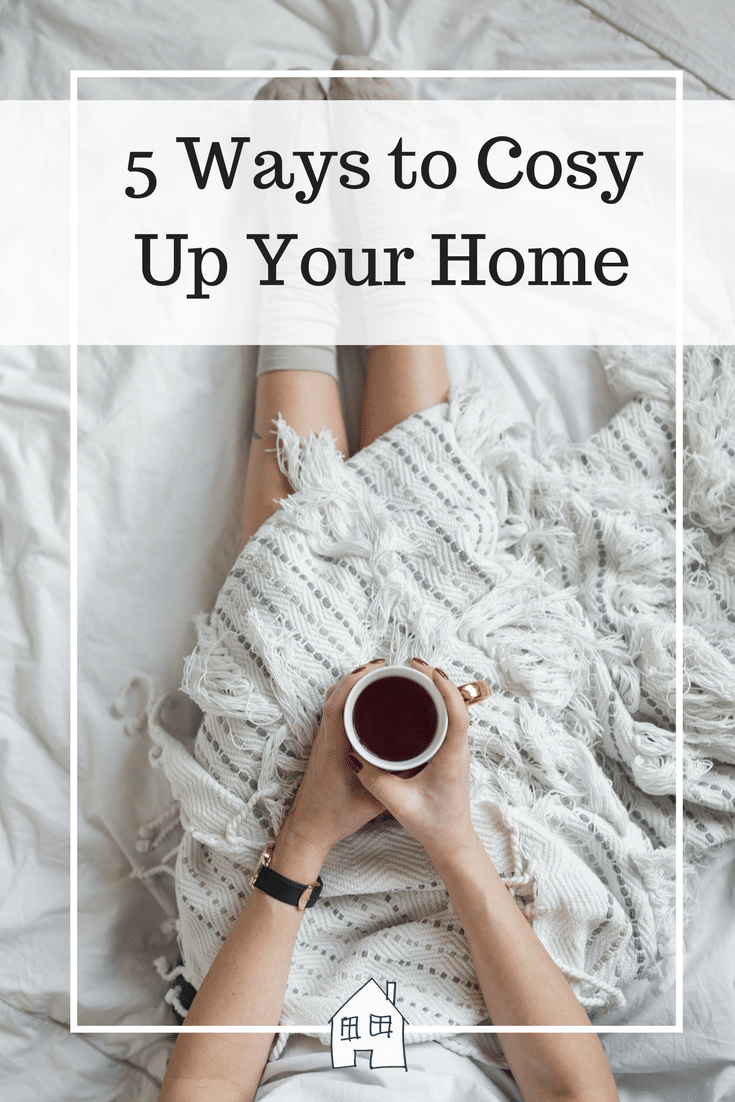 5 Ways to Cosy Up Your Home. cosy home, winter home, cosy accessories, my home is cosy