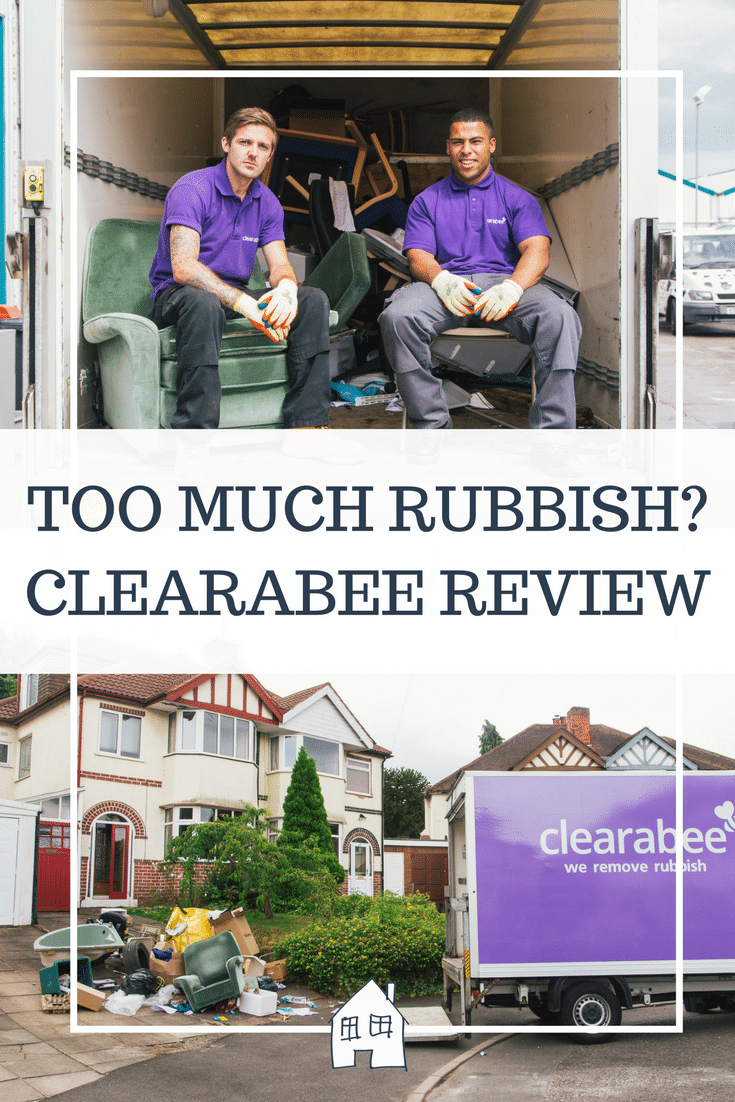 rubbish clearance. A house full of rubbish and need a quick easy way to get rid of rubbish. Then check out the Clearabee rubbish clearance and skip bag review