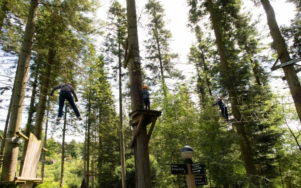 Center Parcs Longleat aerial adventure