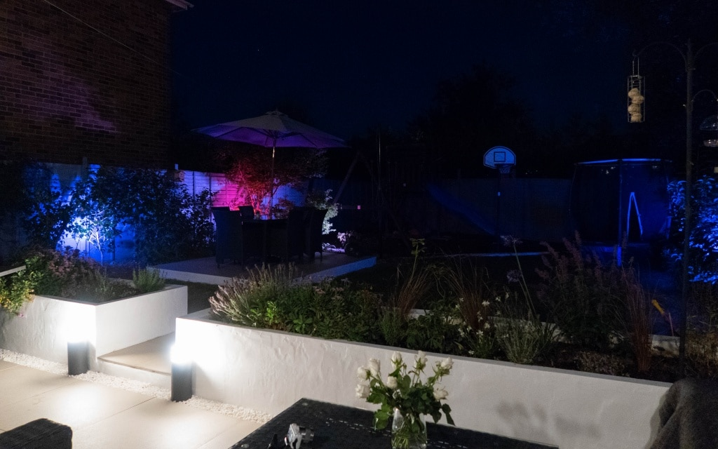 Philips Hue Smart Outdoor Lighting Review Renovation Bay Bee