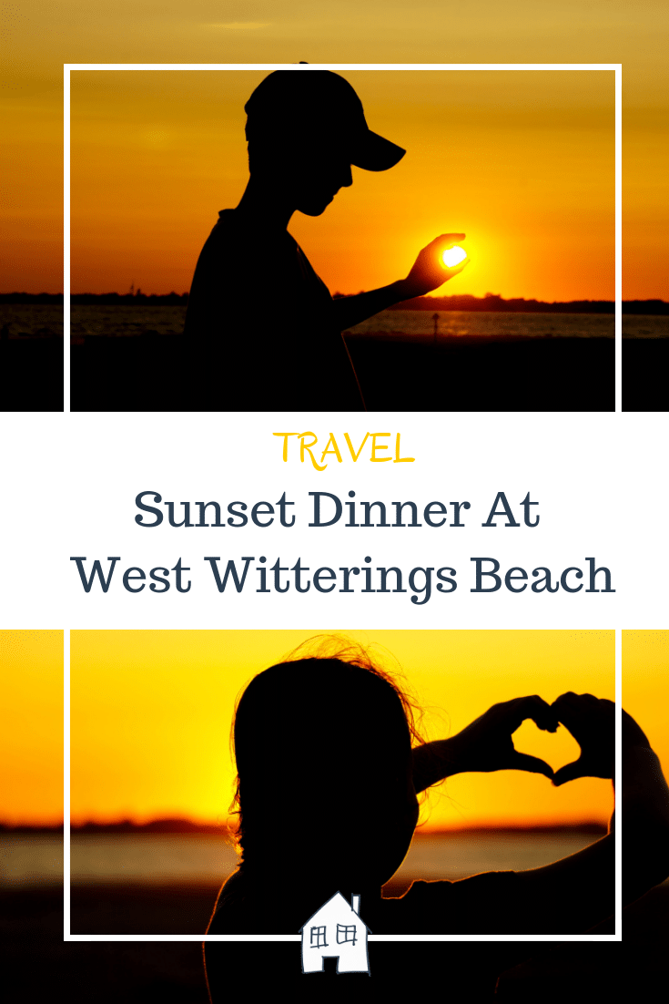 sunset dinner at west witterings beach